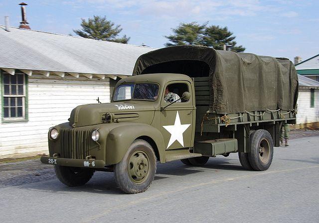 Army Heavy Duty Trucks : Ford military truck big heavy duty f rd trucks