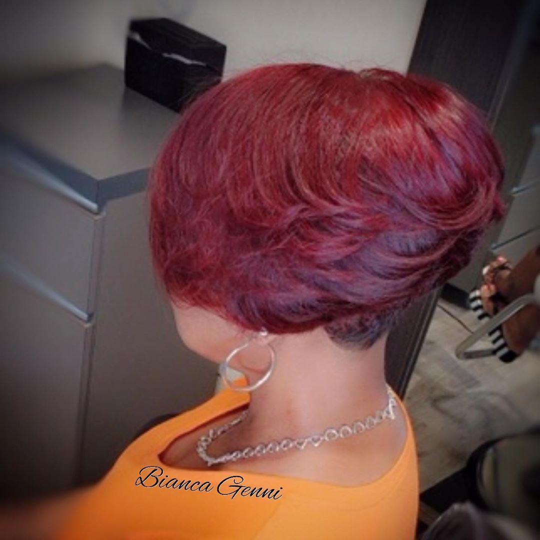 Charlottenc Biancagenni Livelyhairlife Charlottehair Raleighhairstylist Charlottenightlife Thechoppedmobb Charlo Hair Life Short Hair Styles Hair Salon