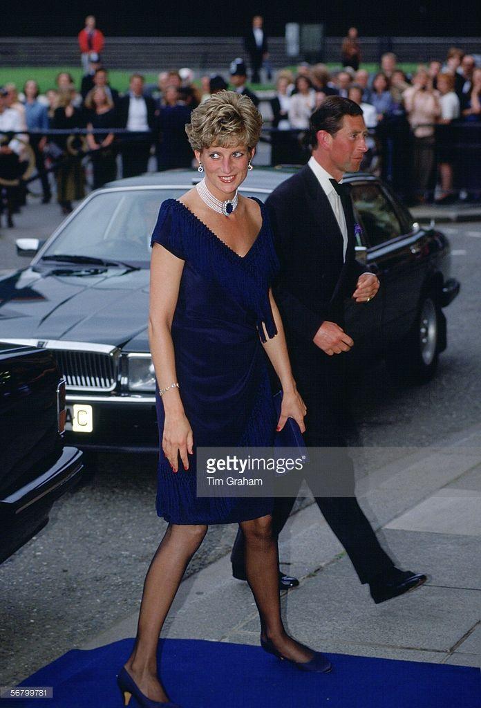 Prince Charles and Princess Diana, The Prince and Princess of Wales at a concert at Royal Albert Hall, London.