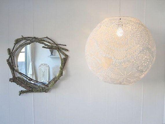 Doily Lamp | doily lamp