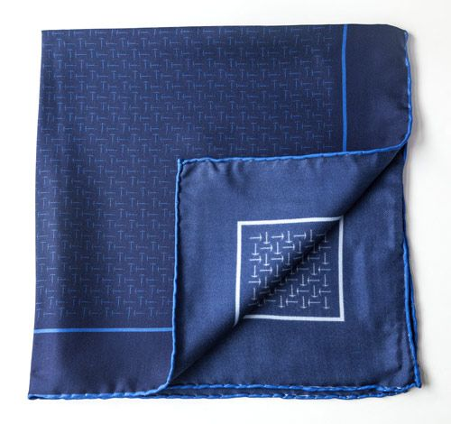 Silk pocket squares by Heritage brand Miller's Oath $110