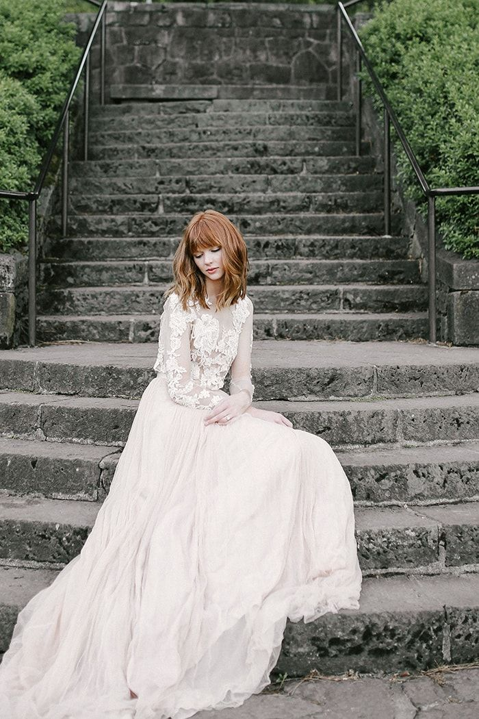 The most romantic wedding dresses from emily riggs bridal once wed junglespirit Choice Image