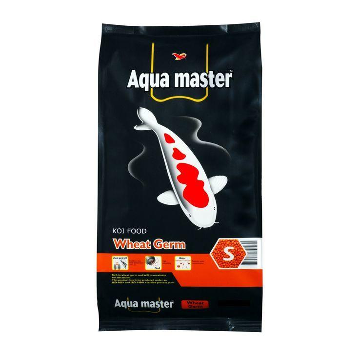 Aqua master wheat germ koi food w22s color enhancement