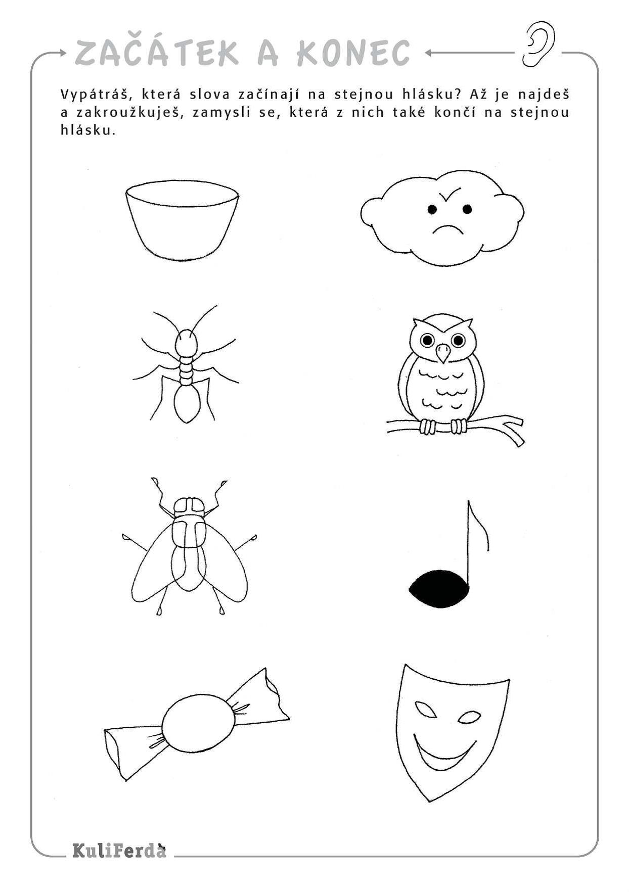 Prvni A Posledni Hlaska Kids Learning Activities Activities For Kids Preschool [ 1765 x 1244 Pixel ]