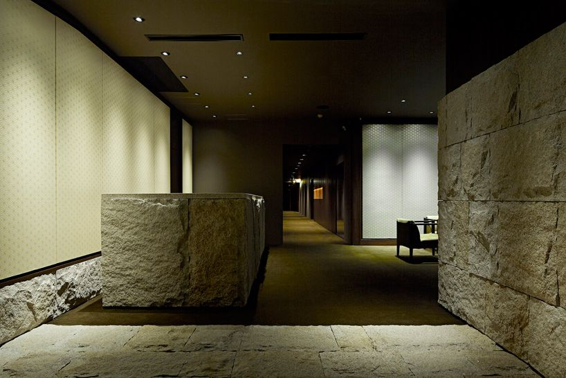A Rugged And Rough Cut Stone Covers The Floor, Right Side Wall,