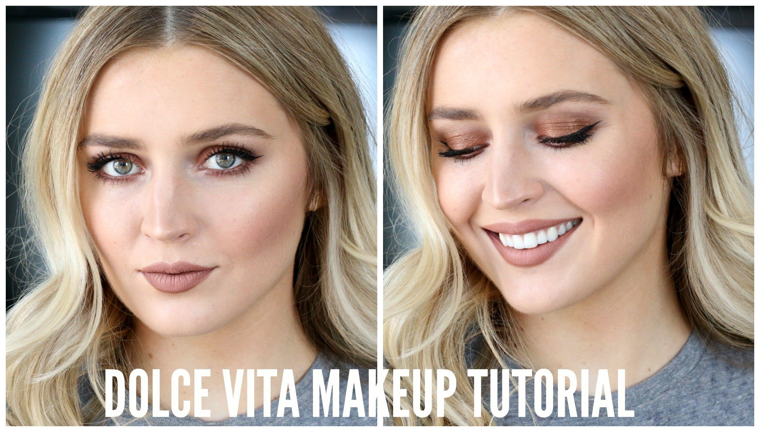 The Dolce Vita Makeup Look Makeup Pinterest Charlotte