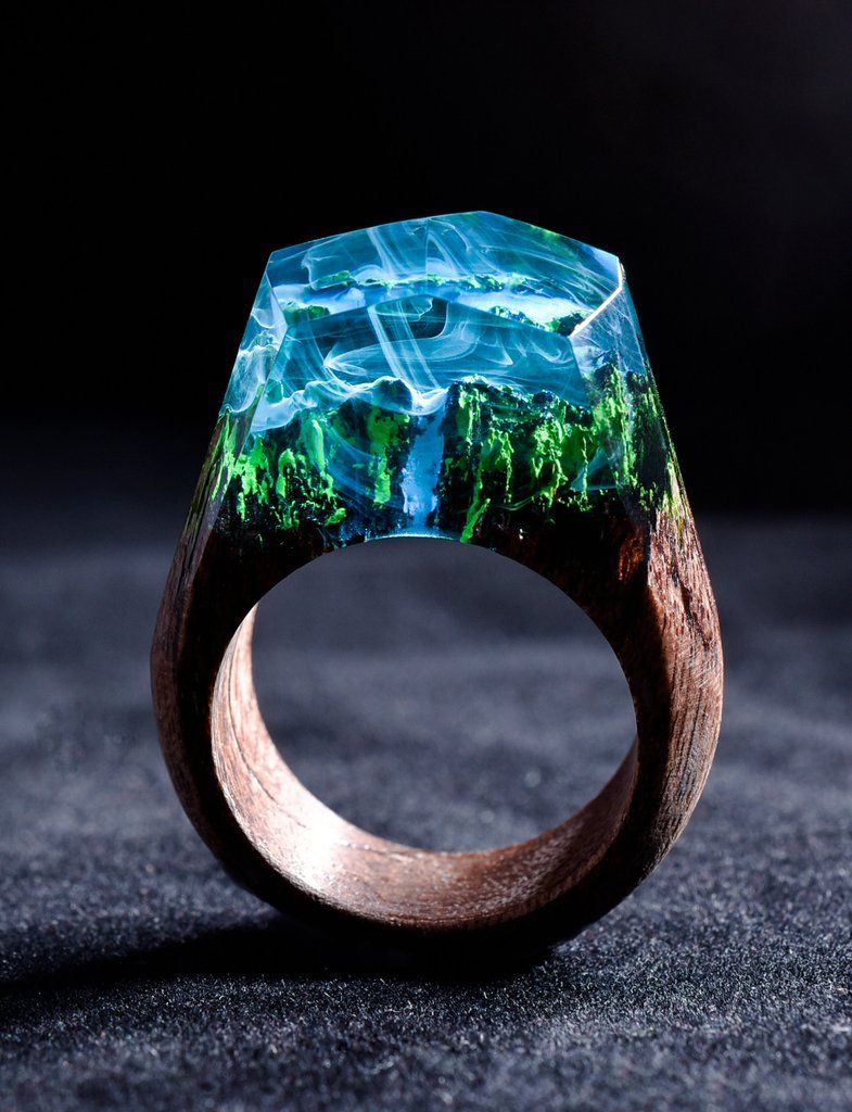Azure Falls Best Jewelry Stores Rings Secret Wood Rings