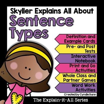 Photo of Sentence Types Activities | Distance Learning | Home School | Independent Packet