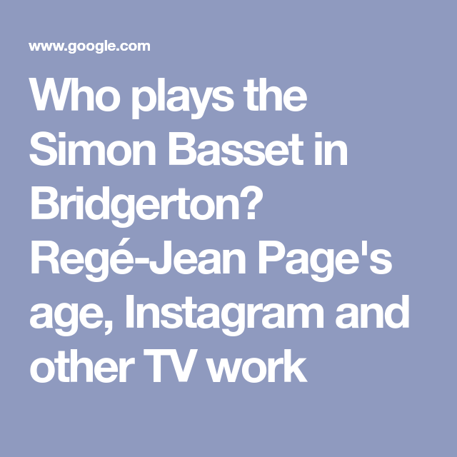 Who Is Bridgerton Star Rege Jean Page Get To Know Your New Tv Crush In 2021 Getting To Know You Gavin And Stacey Smart People