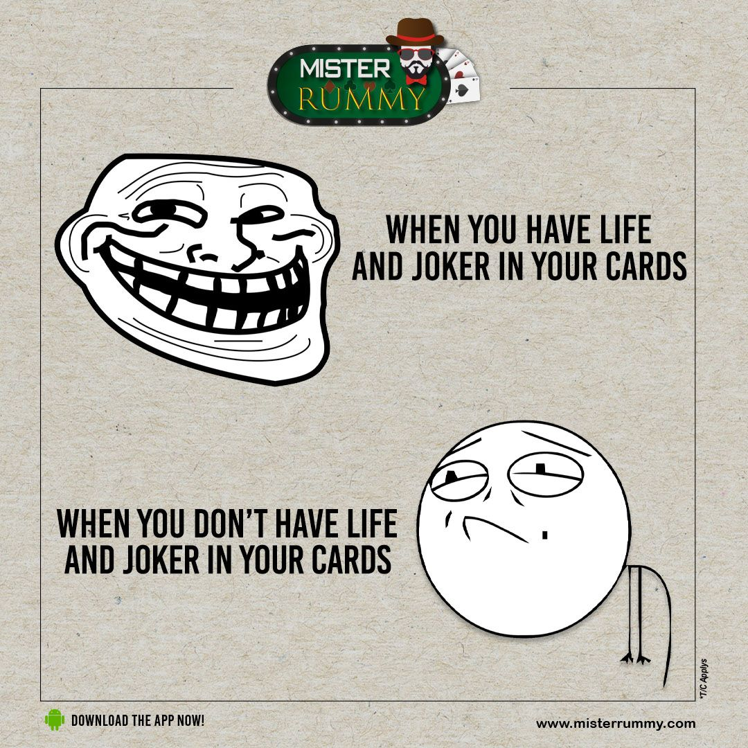The only game in which a joker card can change your game