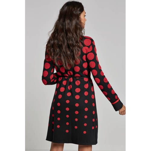 b6c6fe851e9ec5 Ana Alcazar jurk met stippenprint