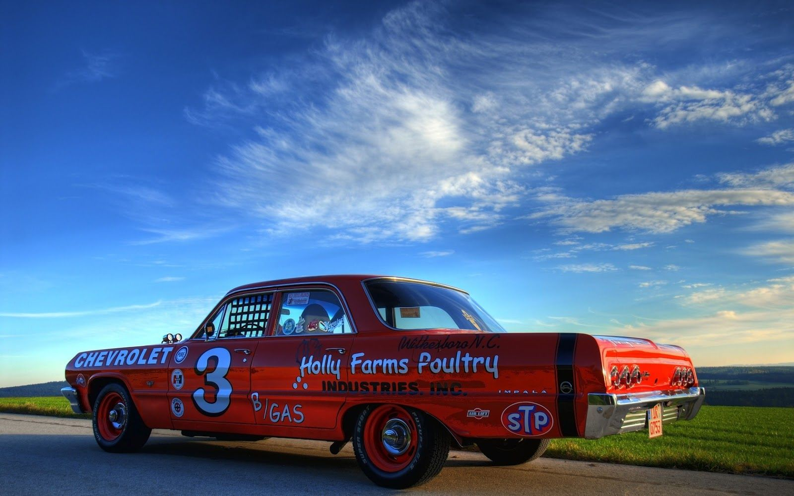 Vehicles Nascar Chevrolet Hot Rod Muscle Car Classic Car Wallpaper