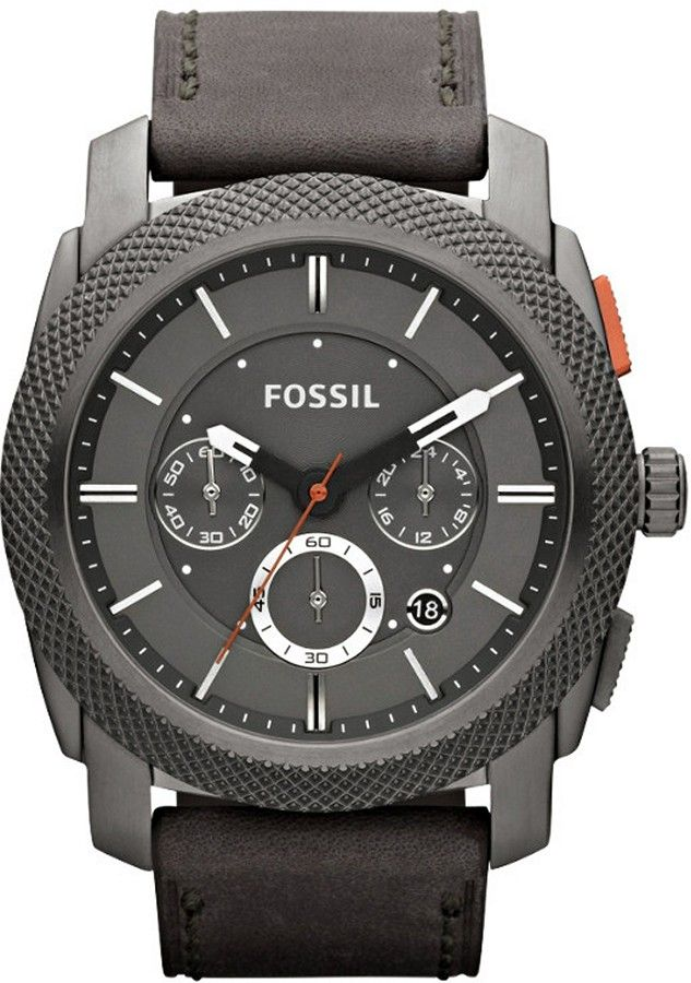 fossil watch men s chronograph machine black leather strap 45mm fs4777 authorized fossil watch dealer mens fossil machine fossil watch fossil watches