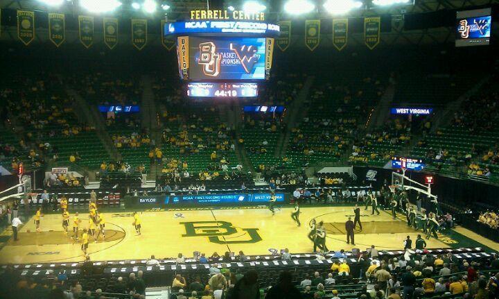 Ferrell Center Baylor University Waco Tx Ncaa Basketball Baylor University Waco