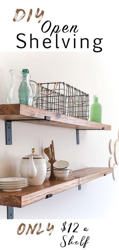 Photo of DIY open shelf – #DIY #open # shelf
