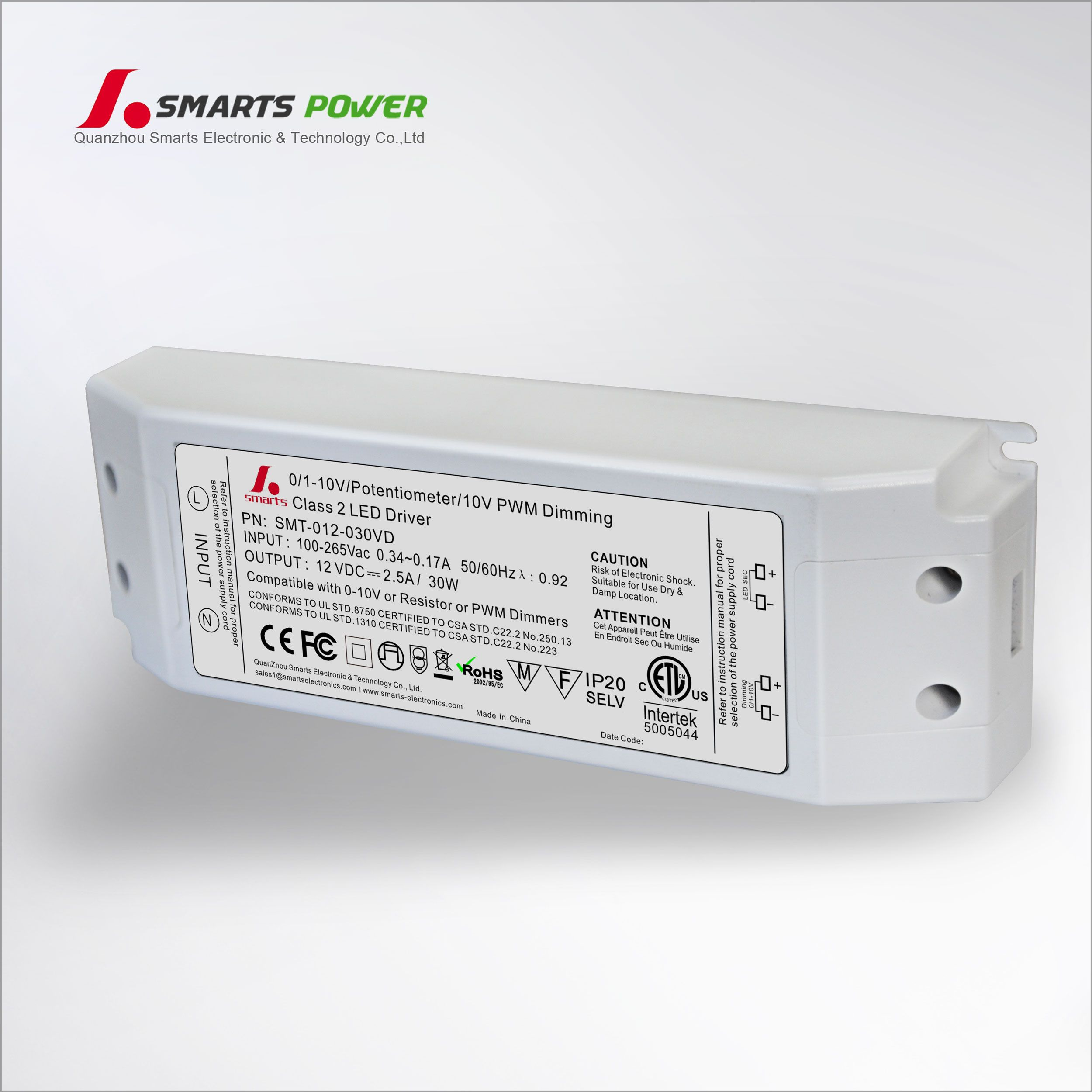 0 10v Led Driver Without Dimmer Led Power Supply Dimmable Led Led
