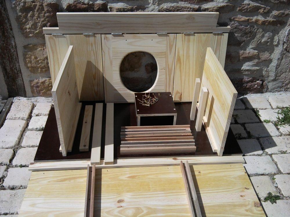 Kit Toilette Sèche Sur Mesure Pour Cabane Existante Ou Votre Wc D