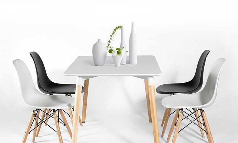 Eames Dsw Stoel : Eames dsw stoel zwart wood designer stoelen kleinendesign