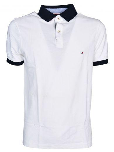 TOMMY HILFIGER Tommy Hilfiger Piqué Polo Shirt. #tommyhilfiger #cloth #https: