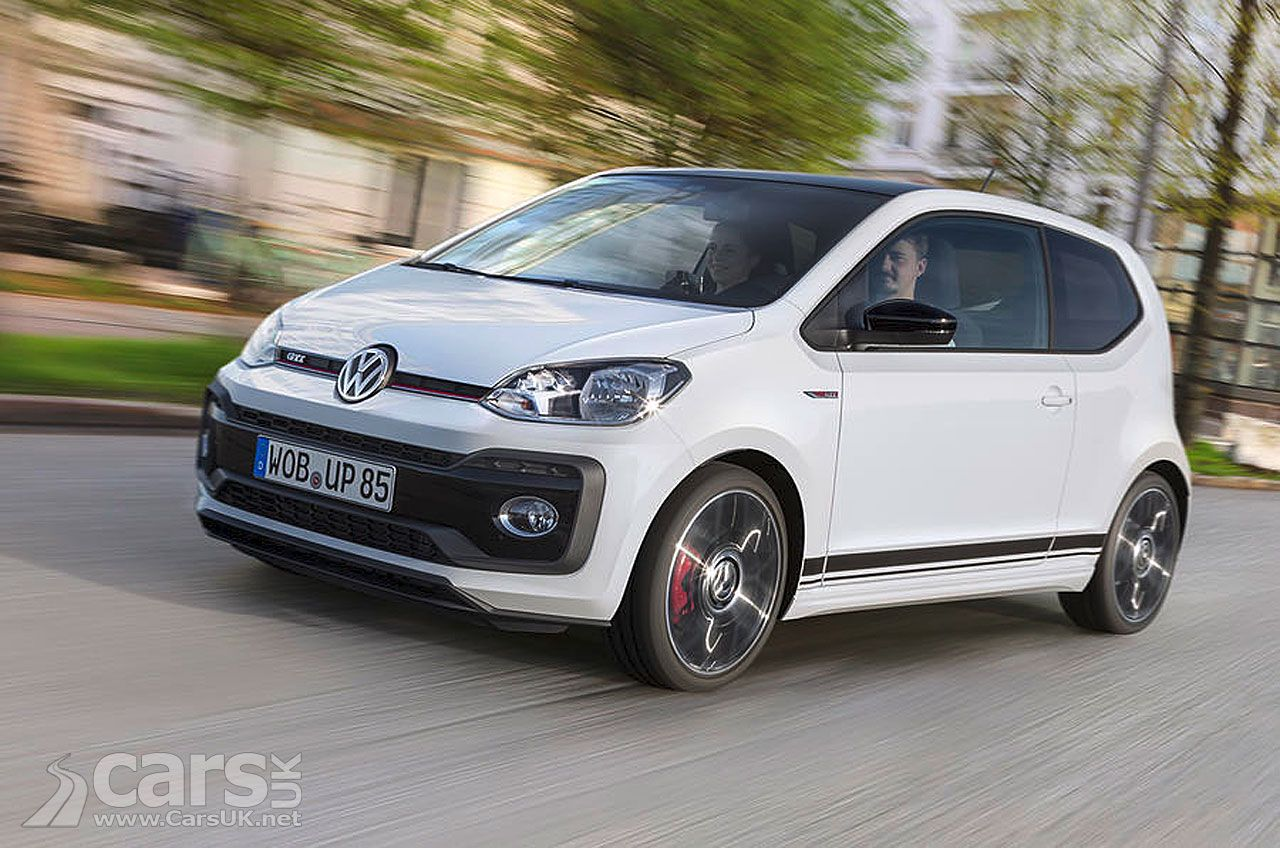 Volkswagen Up Gti Arrives To Cast A Performance Glow On Vw S Up