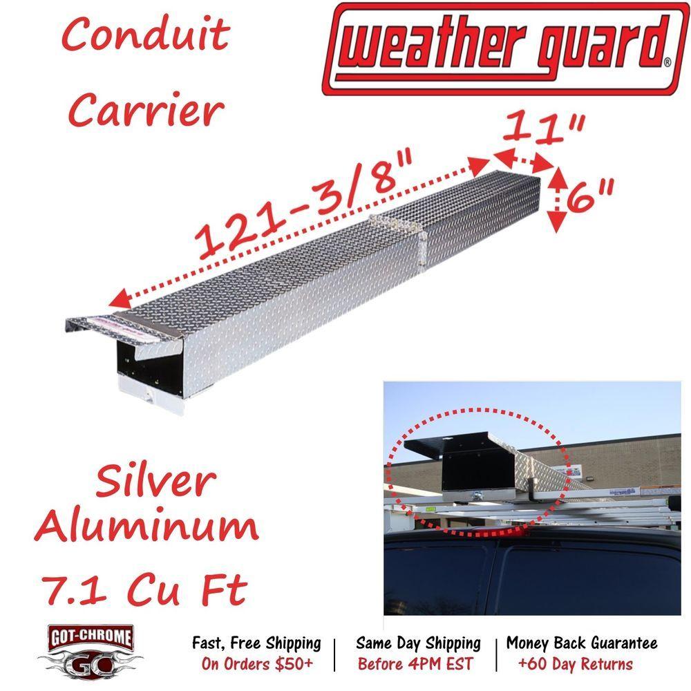 237 Weather Guard Ladder Rack Conduit Carrier Ladder Rack Cars Trucks Weather
