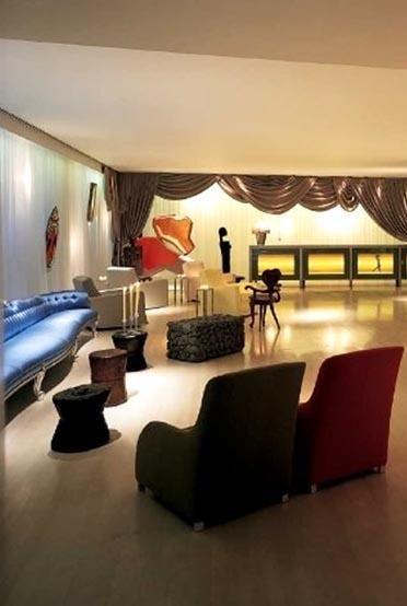 Sanderson Hotel London Designed By Philippe Starck