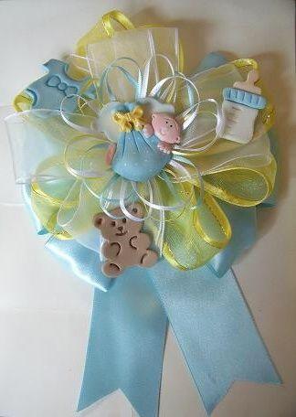 Corsage De Nio Para Mam Baby Shower Pasta Flexible Pinterest