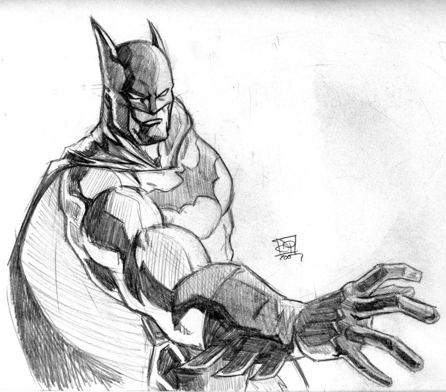 Batman Pencil Sketch | Batman | Pinterest | Batman ...