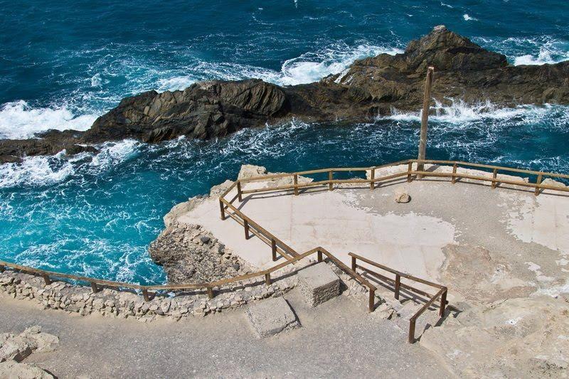 La Playa de Ajuy es una playa situada en la región de Ajuy. Junto a ella se encuentra ubicado el poblado pesquero de igual denominación. También es conocida como Puerto de la Peña, puesto que en anteriores momentos históricos sirvió como lugar de embarque de cereales y ganados de la isla de Fuerteventura con destino al mercado interior o, incluso, la Baja Andalucía y la isla de Madeira, como aparece en las actas de los Acuerdos del Cabildo de Fuerteventura.  Fotos de Michael Friedchen