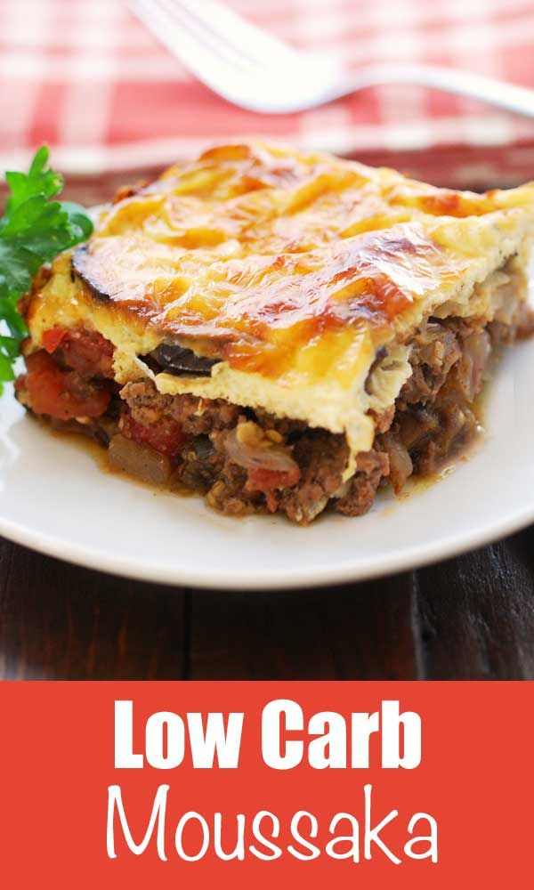 Keto Moussaka Recipe | Healthy Recipes Blog