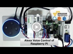 Voice Control of Raspberry Pi using Alexa Node-RED & AWS IoT