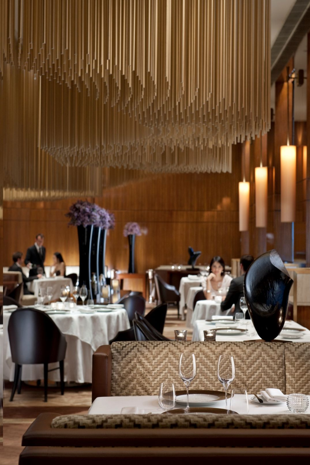 high end restaurants and hotels | amber restaurant/ hotel interior