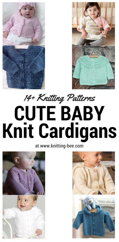 Cute Baby Knit Cardigans You Can\'t Resist | Baby knits | Pinterest ...