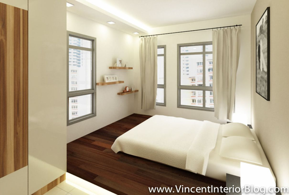 4 room bto master bedroom  BEhome Design concept Buangkok  room HDBMBR   Ideas for the