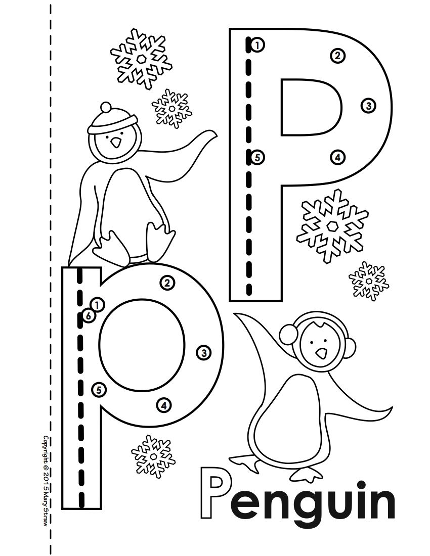 Dot-to-Dot Alphabet Book Activity Coloring Pages (With