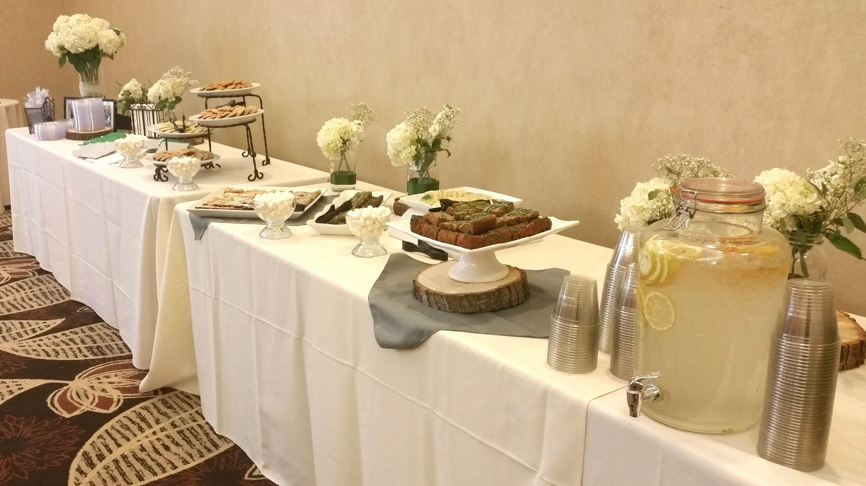 Image Result For Cake And Punch Reception Reception Decorations