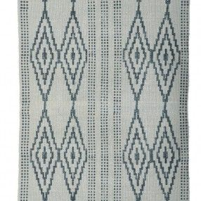 Tapis motifs ethniques gris House Doctor http://www.cabaneindigo.com/home/47-tapis-motifs-ethniques-gris-house-doctor.html #tapis #housedoctor