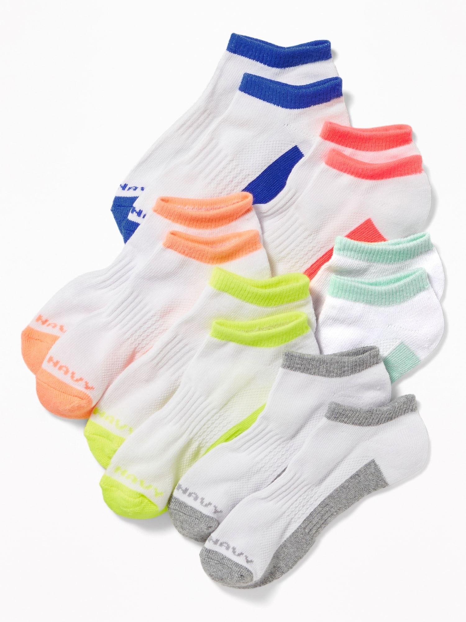 Athletic Sock 6-Pack for Girls | Old navy girls, Athletic socks, Old navy