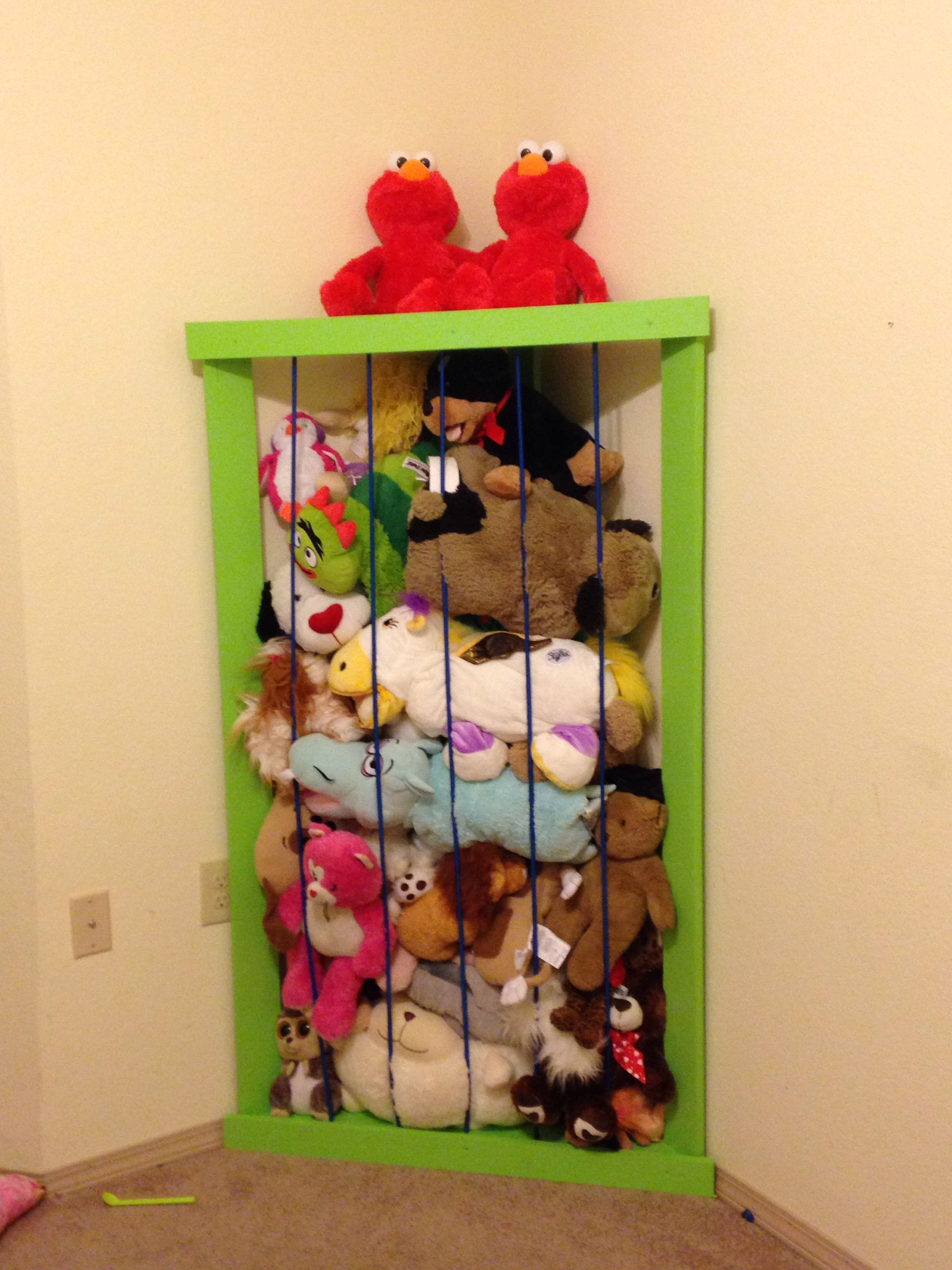 Stuffed Animal Zoo Stuffed Animal Storage Diy Stuffed Animals Stuffed Animal Storage Diy