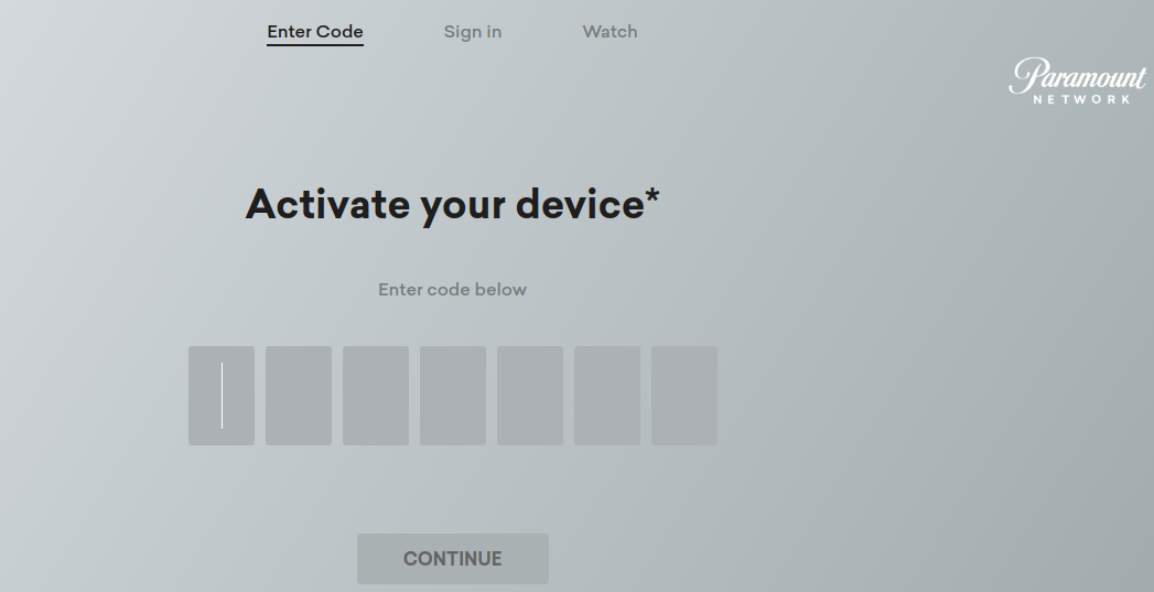 Www Paramountnetwork Com Activate Paramount Device Activation