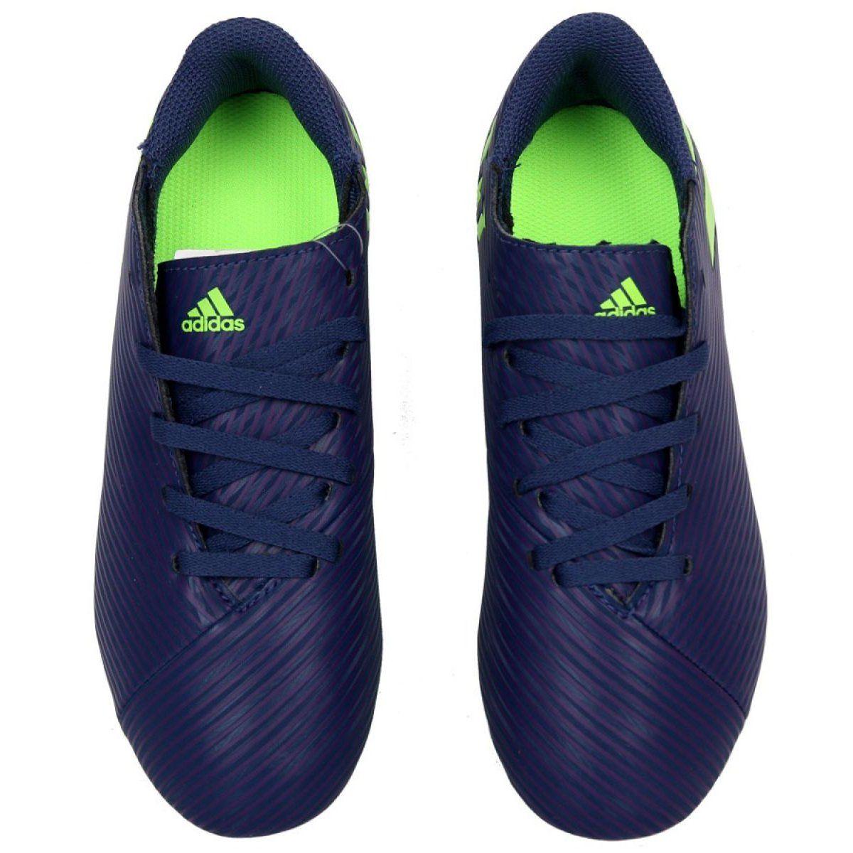 Buty Adidas Nemeziz Messi 19 4 Fg Jr Ef1816 Fioletowe Fioletowe Adidas Sneakers Adidas Shoes