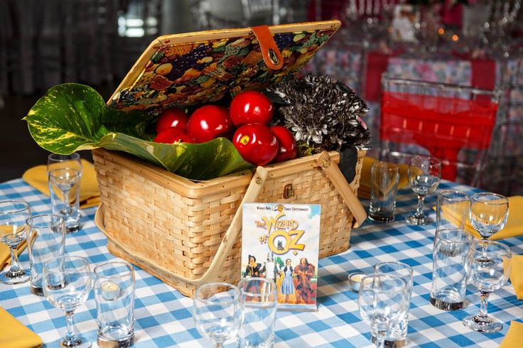 Wizard Of Oz Table Centerpieces Google Search With Images