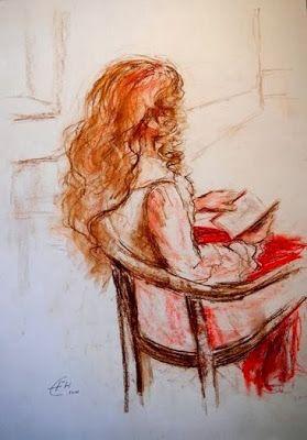 Ellen Fasthuber-Huemer, Lesende, 2011