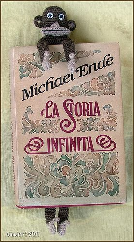 Monkey bookmark - €2.00 by Sabrina Boscolo