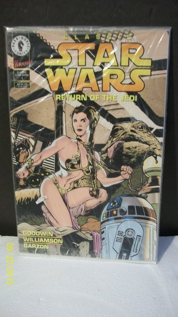 You are purchasing a Vintage Modern Age copy of 1994 Dark Horse Comics Classic Star Wars Return of The Jedi #1 Princess Leia in Jabba The Hut palace