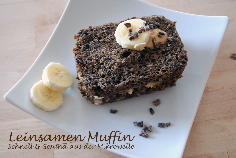 Leinsamen Muffin