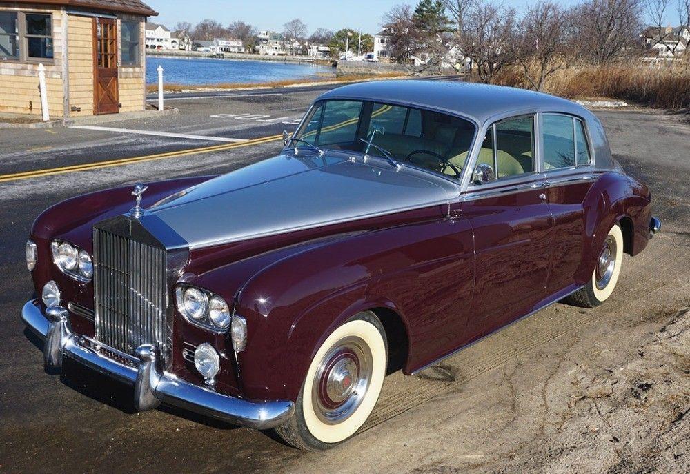 Used 1965 Rolls Royce Silver Cloud Iii Lhd Astoria Ny Rolls Royce Classic Cars Royce