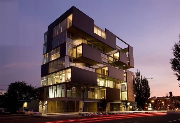 Modern office building design 16023 usa medical for Contemporary office building design