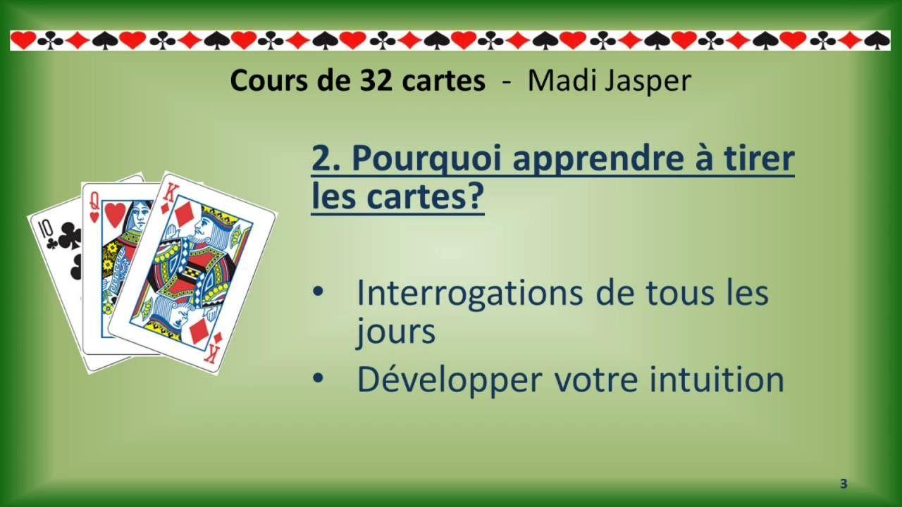 Cartomancie Cours De 32 Cartes Le Tirage Du Chien De Pique Cartomancie Cartes Apprendre A Tirer Les Cartes