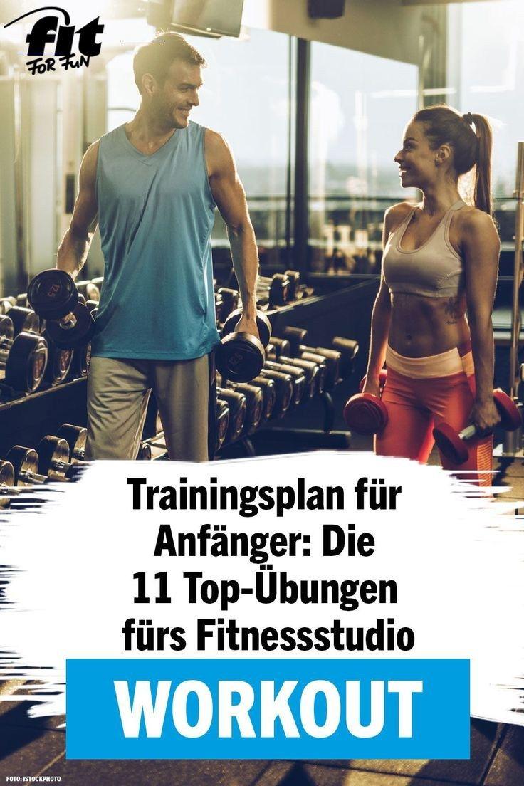 Trainingsplan fürs Fitnessstudio: 11 effektive Übungen Unsere Übungen und Trainingspläne fürs Studio...